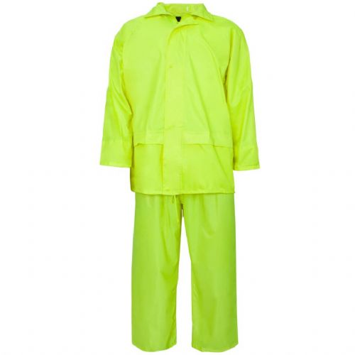 Supertouch Polyester/PVC Yellow Rainsuit